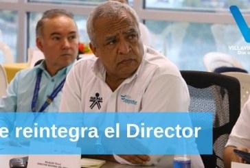 Al cumplir una sanción Disciplinaria de suspensión por cuatro meses, Bilialdo Tello Toscano se reintegra el lunes próximo a la Dirección del SENA.