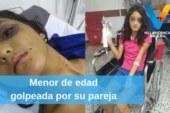 En Porfía una menor de edad es maltratada por su pareja