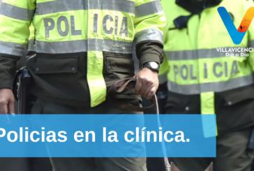 Persecución a dos ladrones terminó en accidente de tránsito y los policiales en la clínica.